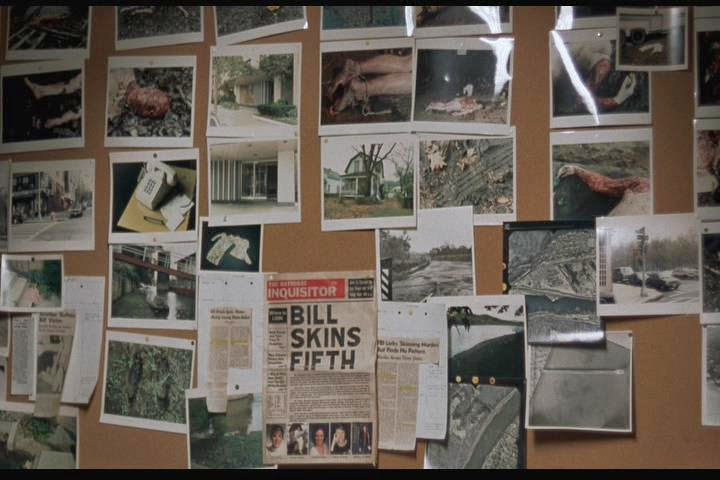 Buffalo Bill Crime Scene Photos and Newspaper Clippings