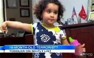 Di Amerika ada Anak 18 Bulan Dianggap Teroris