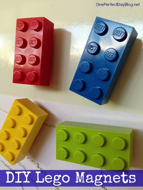 Diy lego magnets do it yourself ideas and projects for Lego diy