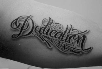 Tattoo Designs Script Tattoo