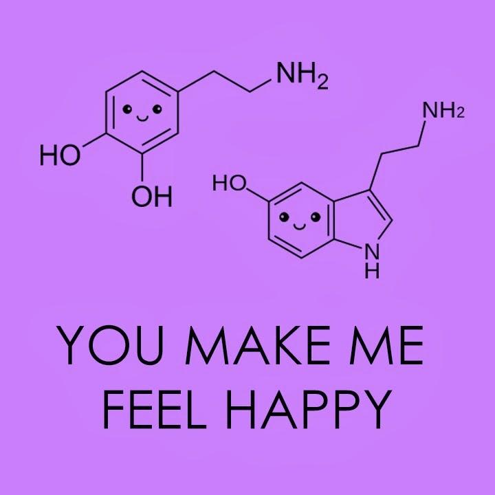 valentines day geek serotonin dopamine