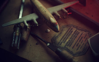 Workshop Wood Model AircraftTools Vintage Photo HD Wallpaper
