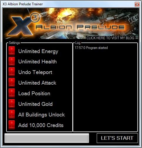 Коды К Игре X3 Albion Prelude