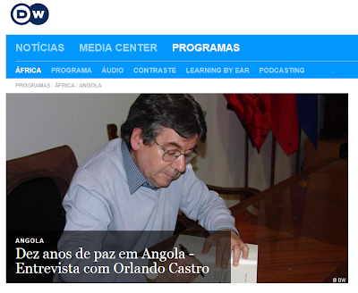 DEZ ANOS DE PAZ EM ANGOLA - Entrevista com Orlando Castro