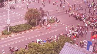 Ledak Bom Kembali Mengguncang Jakarta Di Sarinah, Jalan Thamrin
