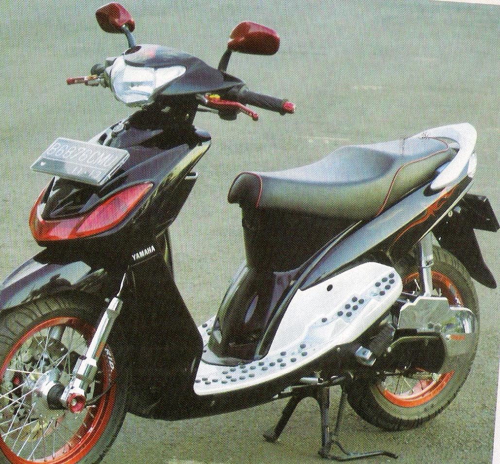 Koleksi Modifikasi Motor Mio Th 2010 Terkeren Obeng Motor