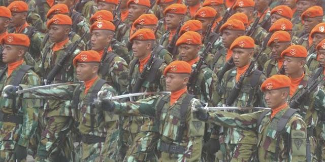 Kisah Paskhas TNI AU Selamatkan Miliaran Rupiah dalam Brankas BI