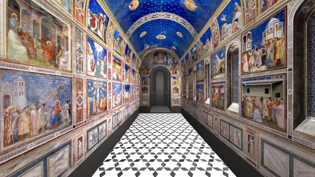 Arena Chapel Padua Virtual Tour