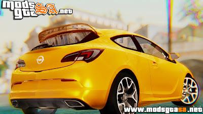 SA - Opel Astra J OPC