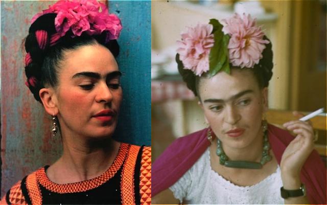 Frida Kahlo inspiracion coronas de flores