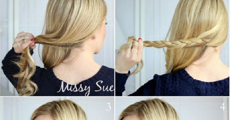 Braid Tie Of Ponytail Hairstyles Step By Step Entertainment News