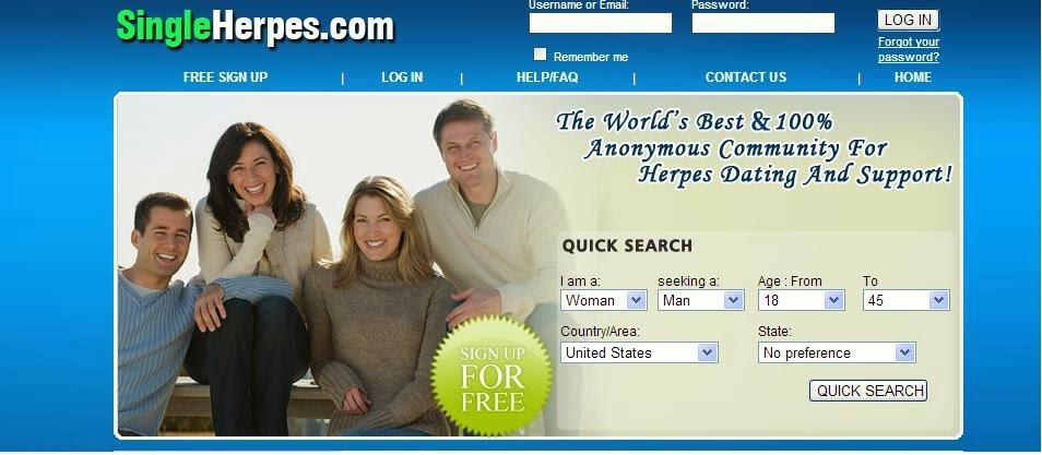 free dating for herpes