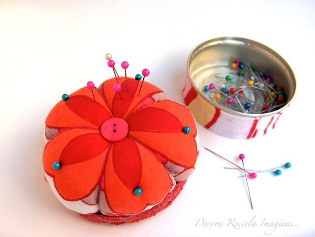mum gift: double pincushion tutorial