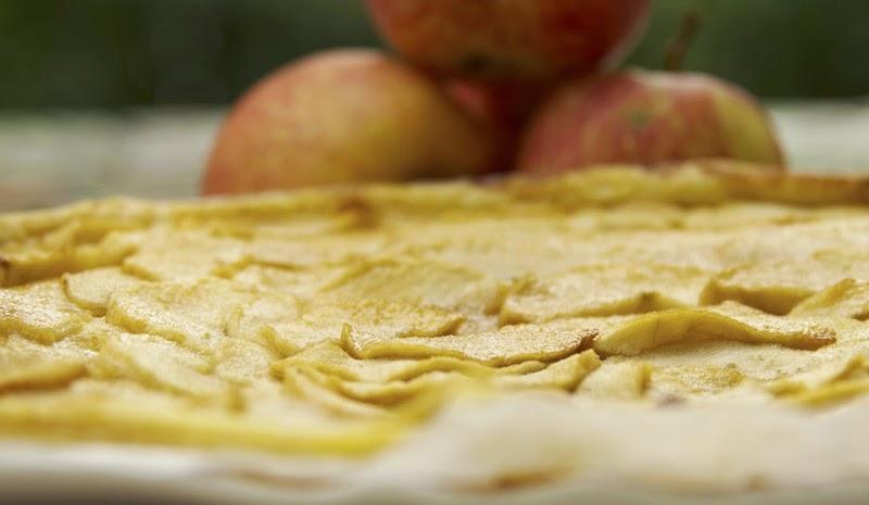 Gourmandise et cuisine tarte fine aux pommes - Cuisine et gourmandise ...