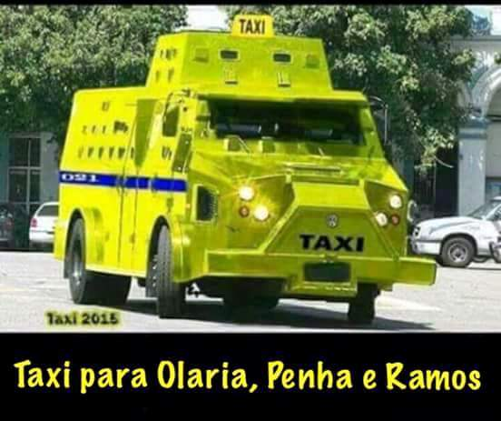 Táxi no Rio
