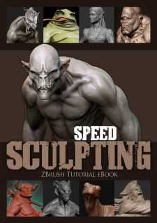 Speed Sculpting ZBrush Ebook + DVD
