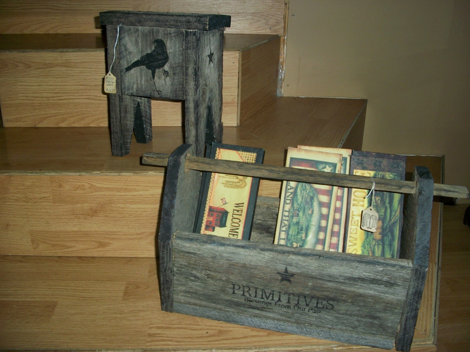 Click here to see the post on these other Barn Lumber Crafts