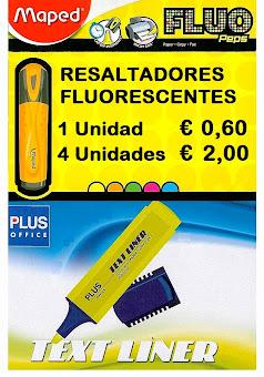 RESALTADORES FLUORESCENTES