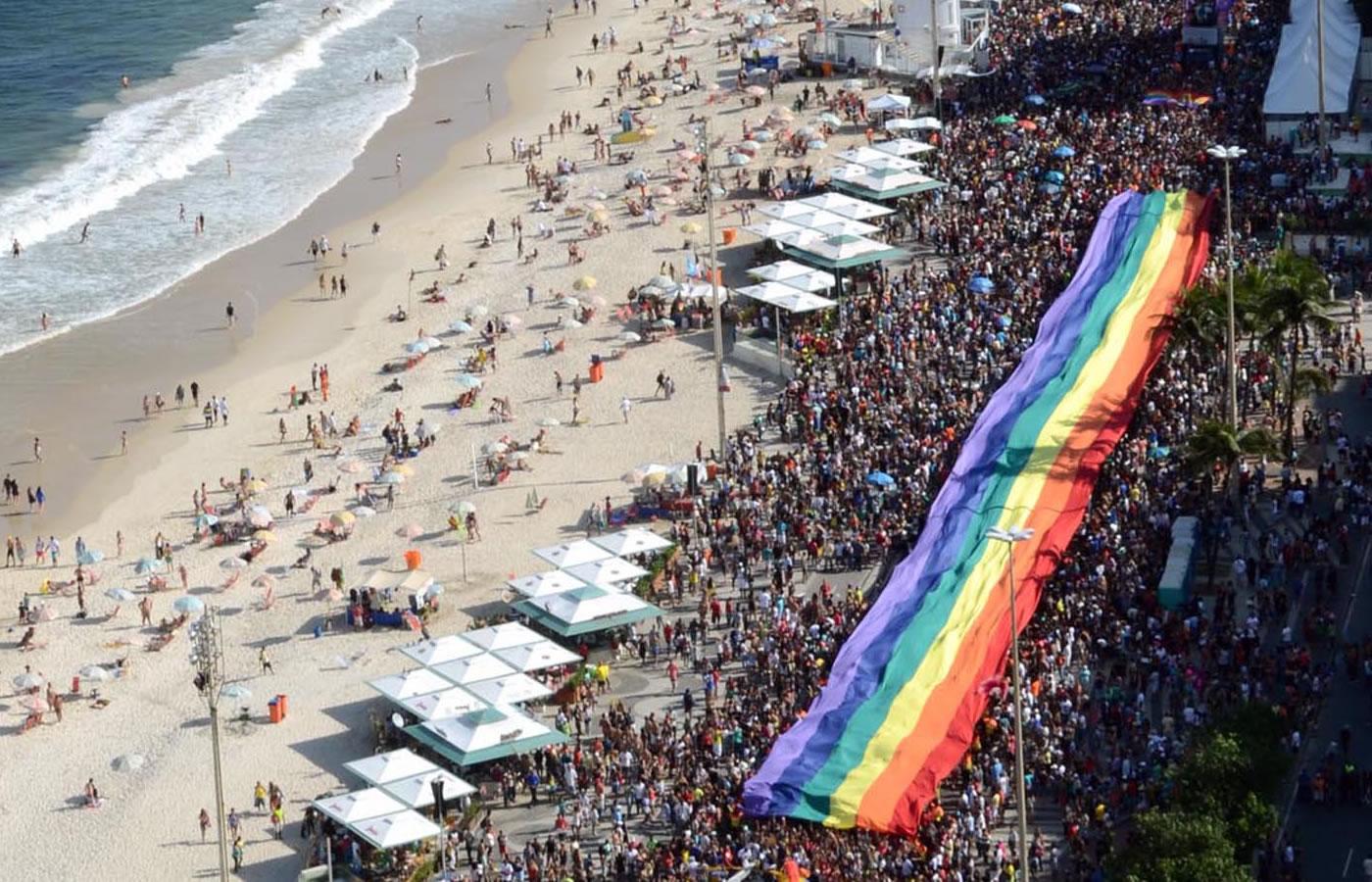 Grupo Arco-Íris divulga data da Parada do Orgulho LGBT do Rio de Janeiro