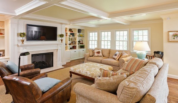Traditional living room design modern style home inspirations for Traditional style living rooms