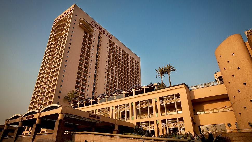 passion for luxury conrad cairo hotel in egypt. Black Bedroom Furniture Sets. Home Design Ideas