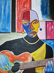 Guitar Lady (Sold)