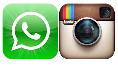 whatsapp dan isntagram