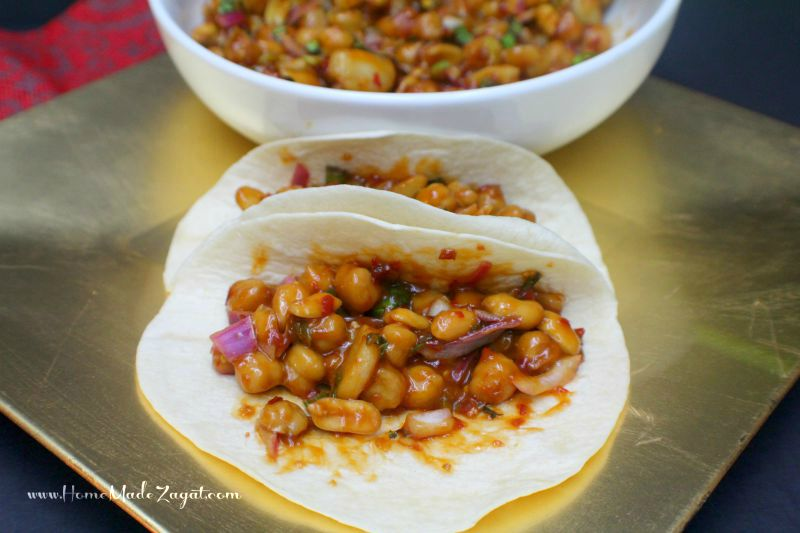 Kung Pao ChickPeas Home Made Zagat