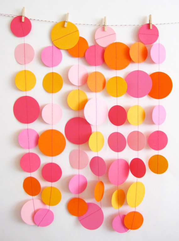 Circle Garland Backdrop