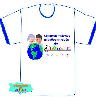 uniforme para grupo de louvor infantil