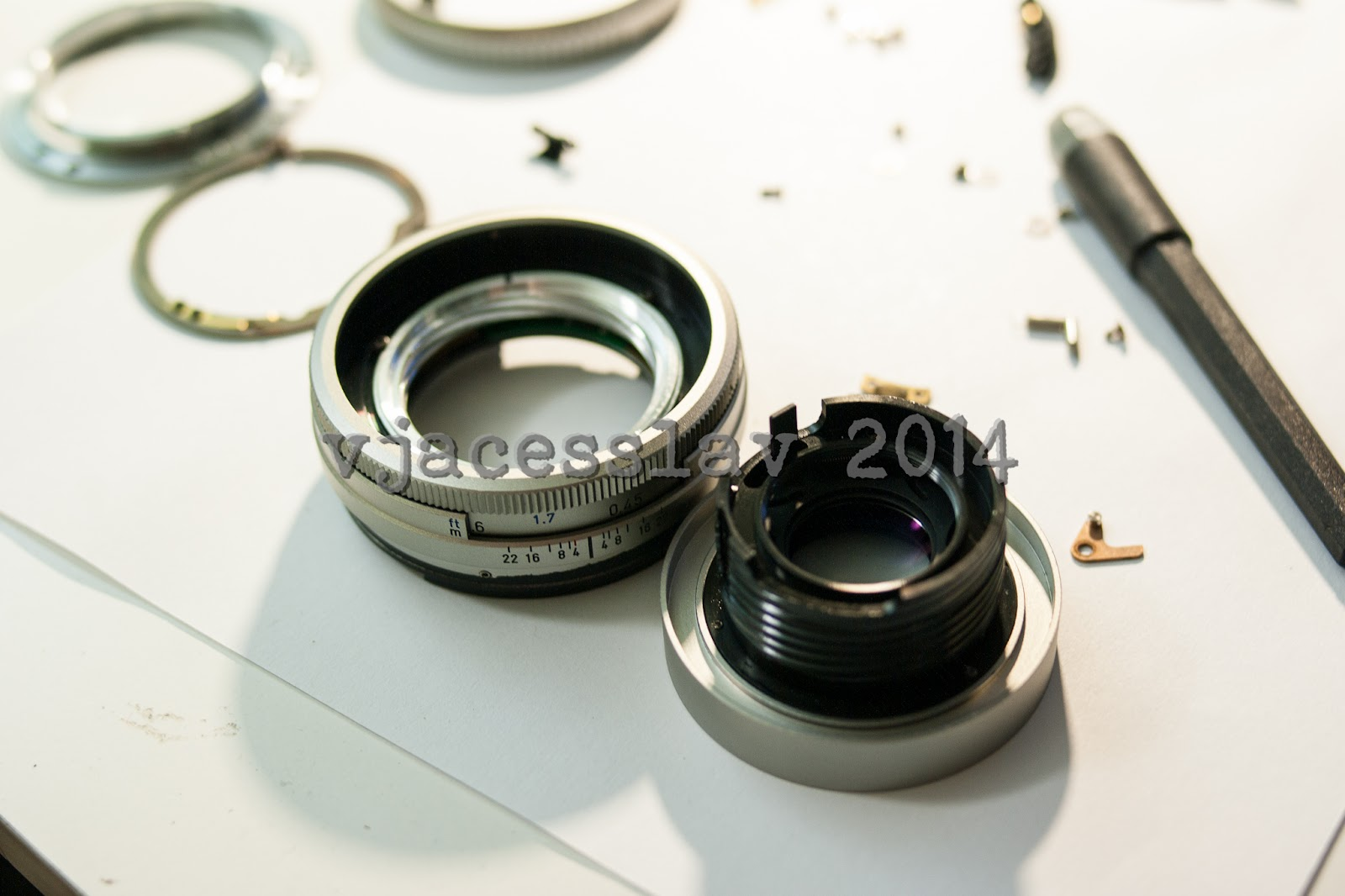 how to clean dust inside sigma lens