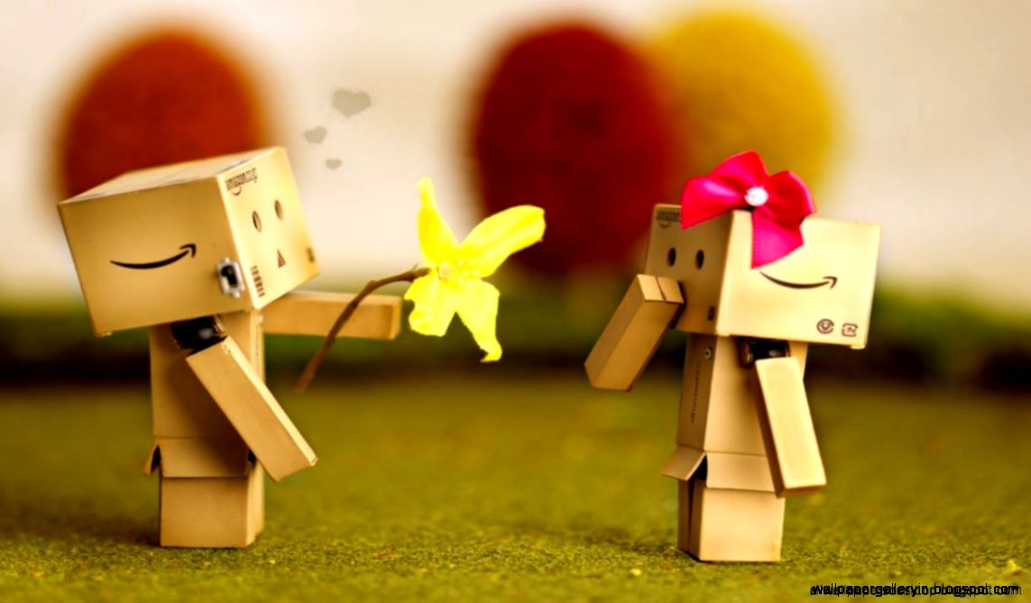 Danbo Love In Apple Hd Wallpaper  High Definitions Wallpapers