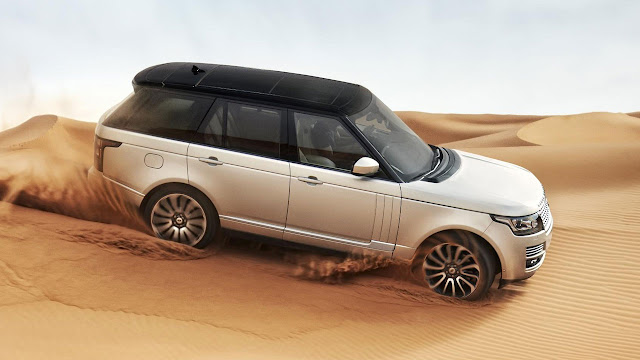 The All-New Range Rover dunes