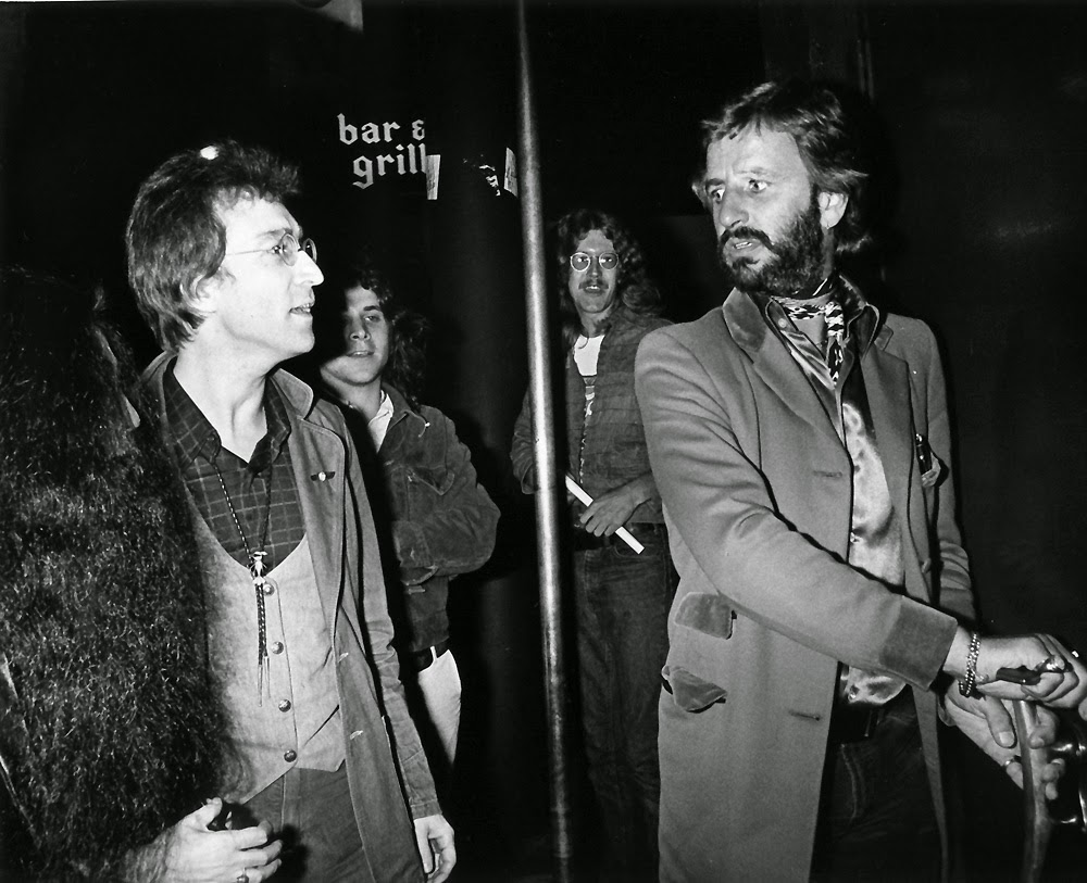 John Lennon And Ringo Starr