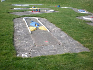 Crazy Golf at Kings Parade Gardens in New Brighton