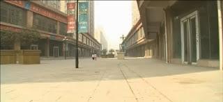As cidades Fantasmas da China