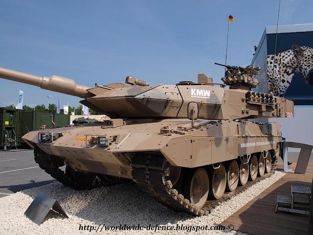 Tank Leopard dan Marder Tiba di Indonesia pada Oktober 2013