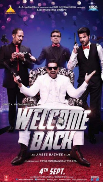Poster of Welcome Back 2015 720p Hindi BRRip Full Movie