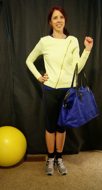Active + Fabulous Style!: Adidas T-shirt, Leggings, Betsey Johnson Jacket, KGB Bag from Winners, New Balance Running Shoes, fit4balance, fashion, mystyle, fabfinds, healthy, wellness, outfit, OOTD, ideas, toronto, ontario, canada