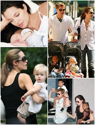 Brad Pitt and Angelina Jolie Kids