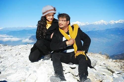 Sri Krishna Shrestha and Sweta Khadka