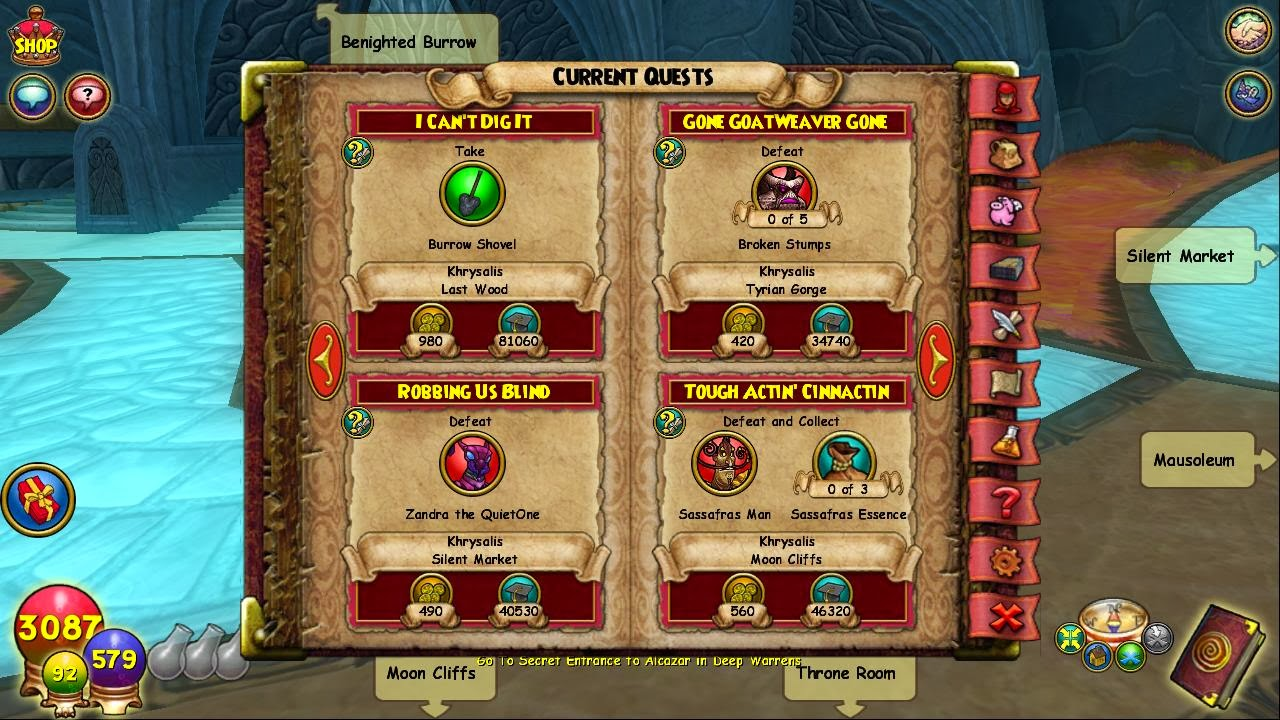 wizard101 test realm update