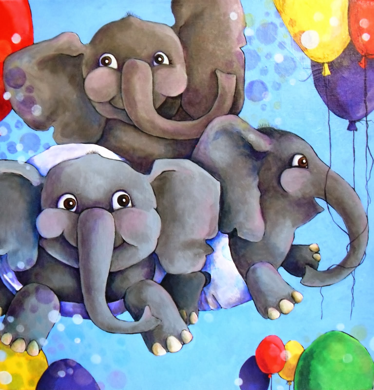 Elephants II