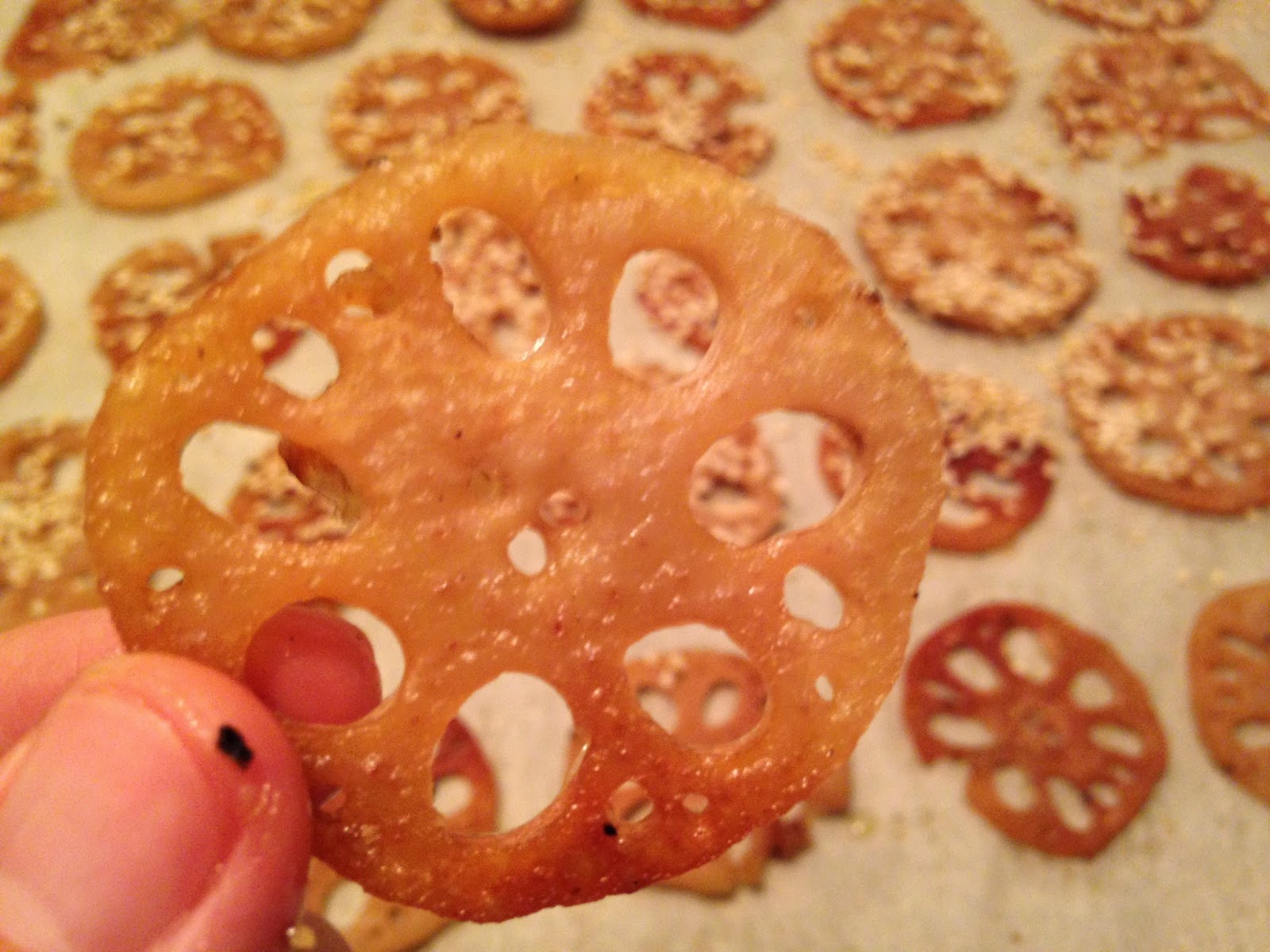 Frugal Allergy Mom Baked Lotus Root Chips Free Of Top Allergens