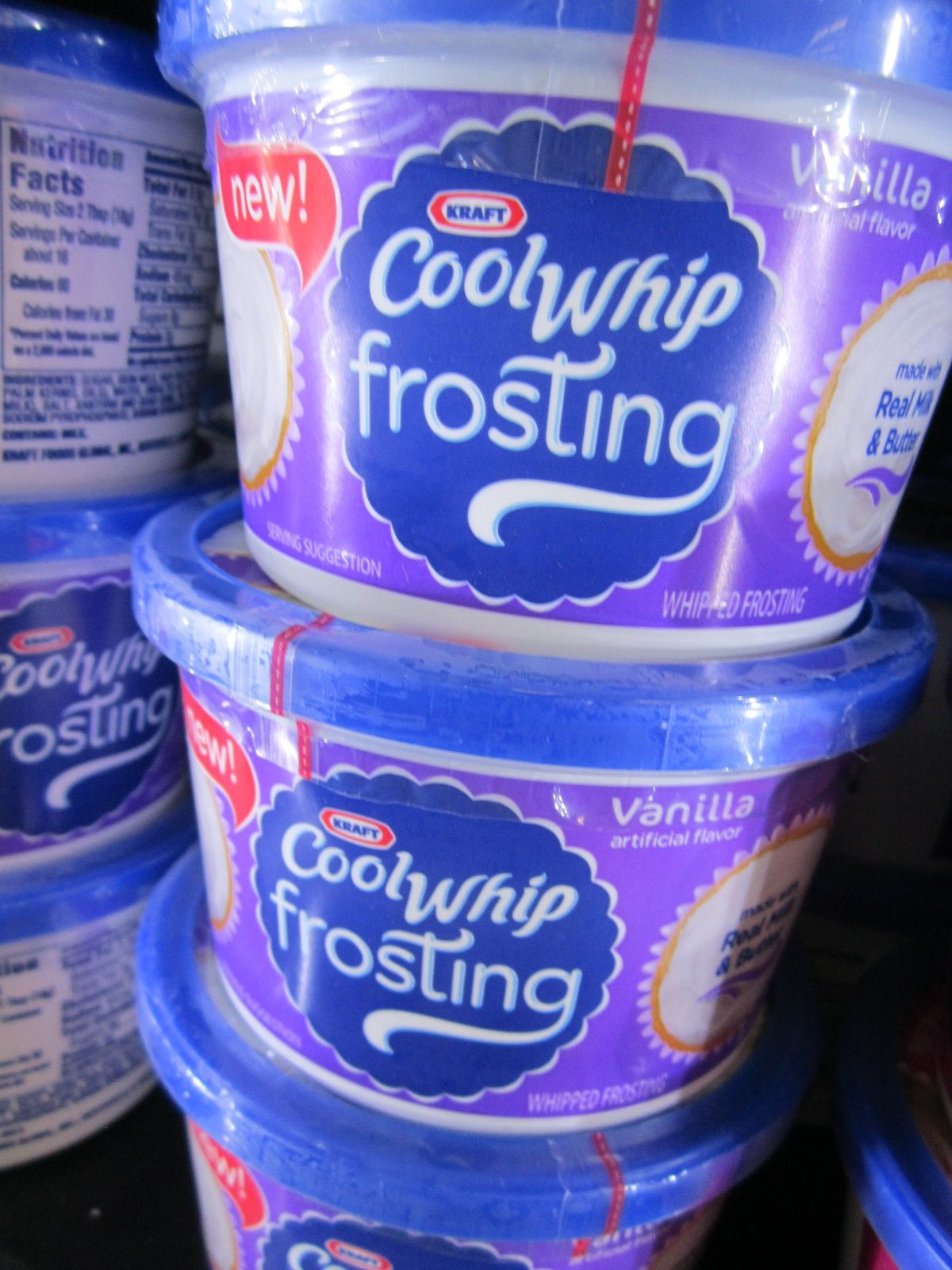 Coupon for cool whip frosting