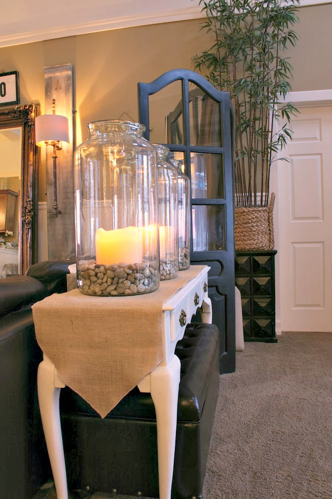 Restoration Hardware, candle holders, LORRAINE ARCHITECTURAL RAILING SCONCE