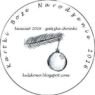 BN w kwietniu- gałązka choinki i nietypowe kolory