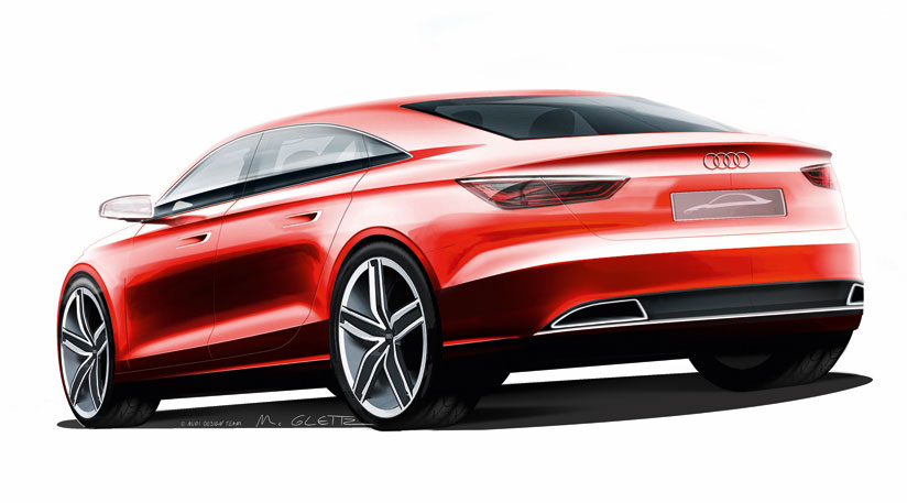 audi a3 2011 blogspotcom. Audi has released first sketches of the Audi A3 concept, ahead of its debut