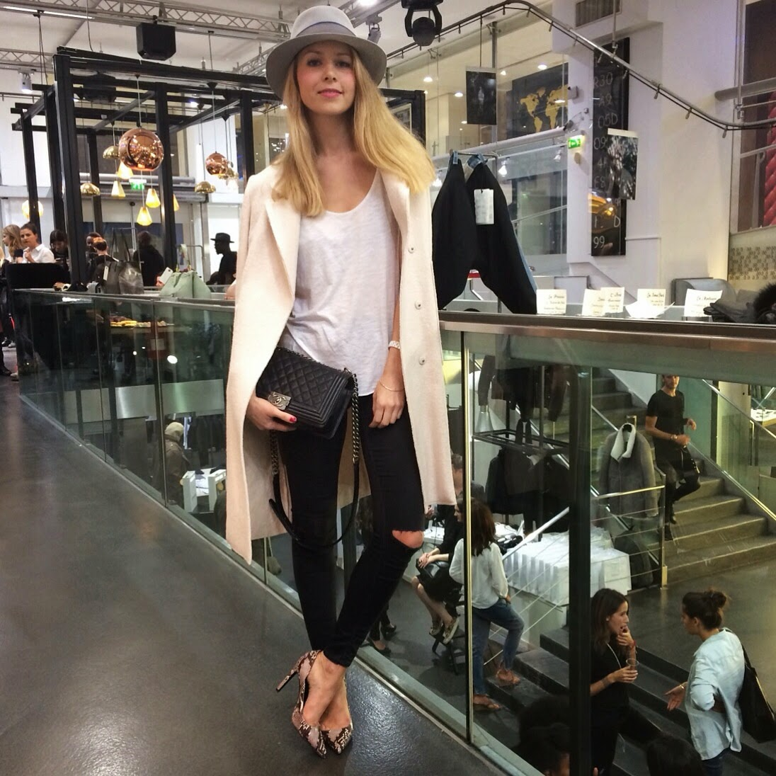 fashion blogger, fashion events, miriam salat, bochic, jewlery, le66 champs elysées, balmain, zara, topshop, chanel, paris
