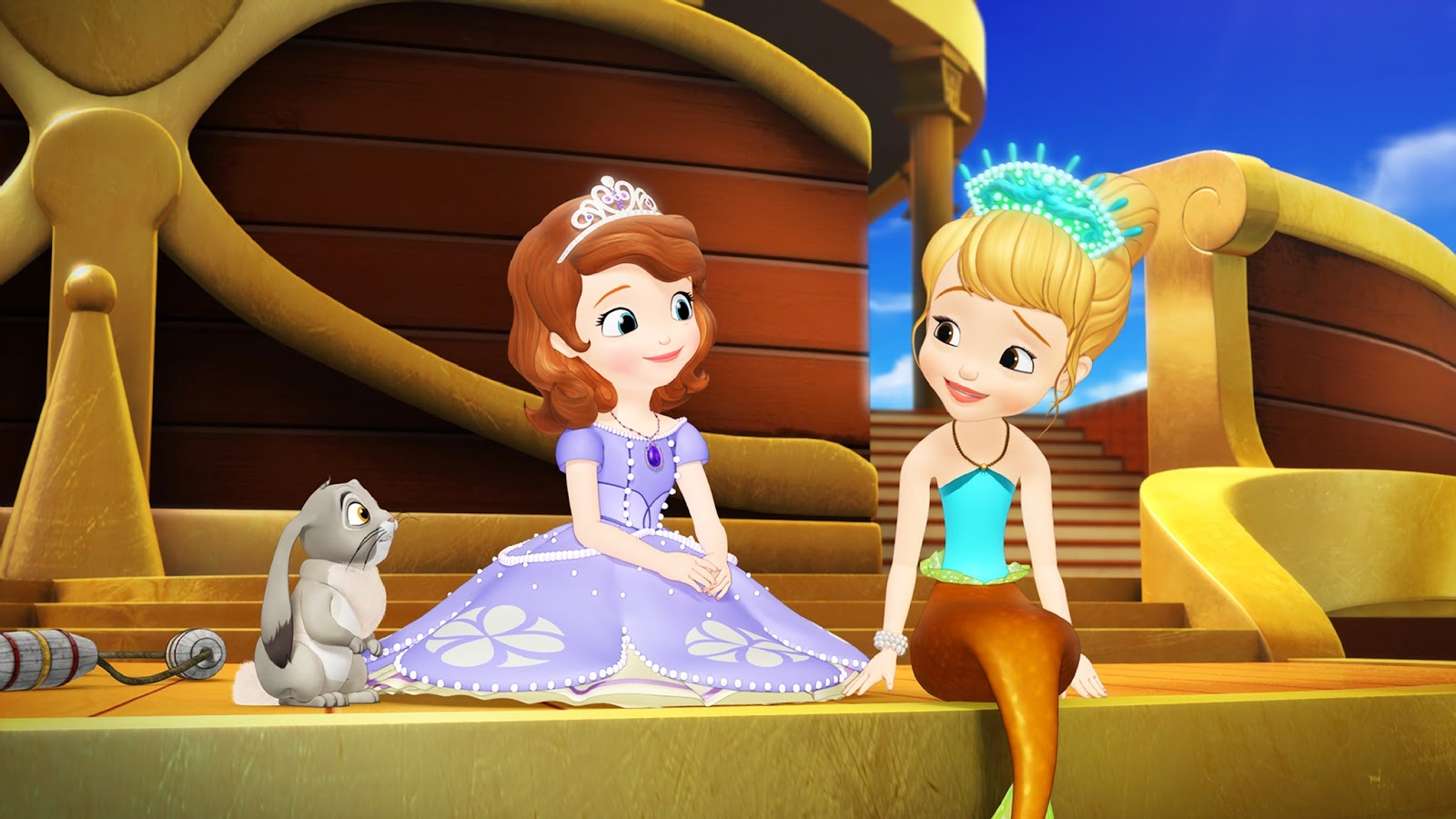Little Island Studios Disney Juniors Sofia The First Floating Palace Premier DisneyJunior
